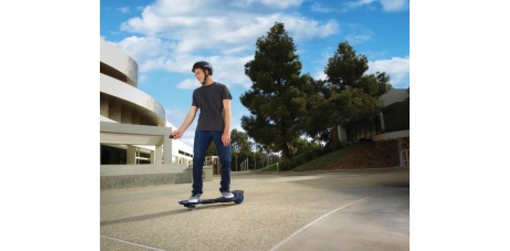 Электрический скейтборд на двух колёсах: RipStik Electric Blue
