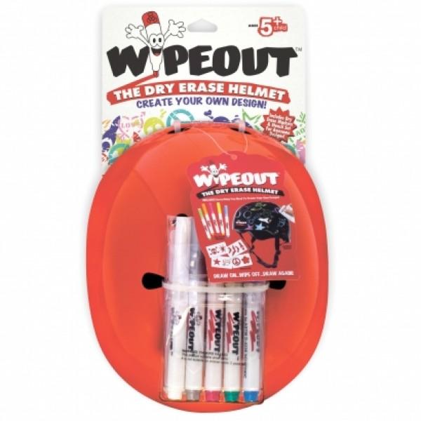 Шлем с фломастерами Wipeout